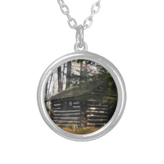 Cabin at the Pa Grand Canyon -Leonard Harrison Pk Necklaces
