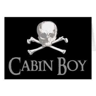Cabin Boy Cards