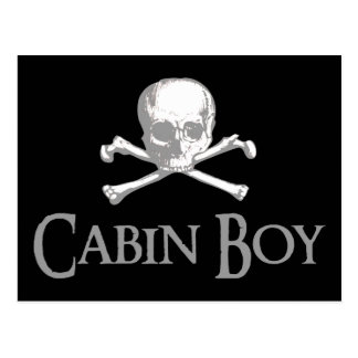 Cabin Boy Postcard