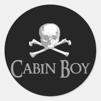 Cabin Boy Stickers