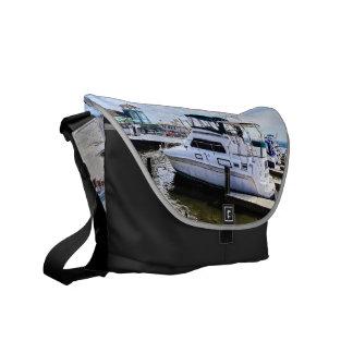 Cabin Cruisers by Founders Park Alexandria VA Messenger Bag