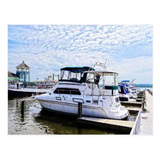 Cabin Cruisers by Founders Park Alexandria VA Postcard