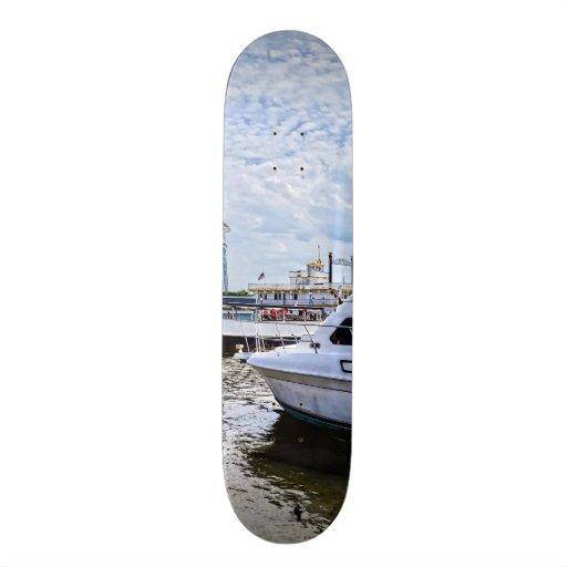 Cabin Cruisers by Founders Park Alexandria VA Skate Board