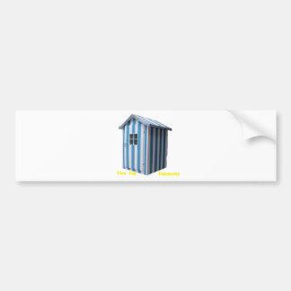 CABIN DEAUVILLE.png BEACH Bumper Sticker
