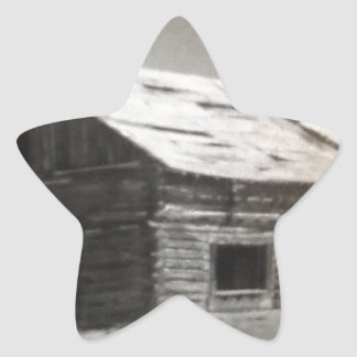 Cabin Dream Star Sticker