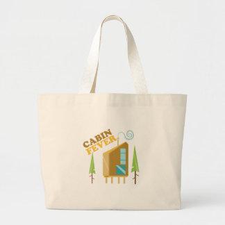 Cabin Fever Jumbo Tote Bag