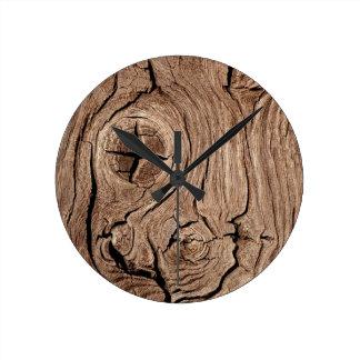 Cabin Gear Round Wall Clocks