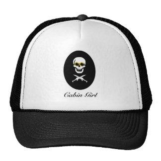Cabin Girl Cap Mesh Hats