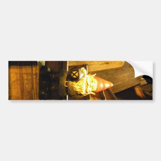 Cabin Gnome Bumper Sticker