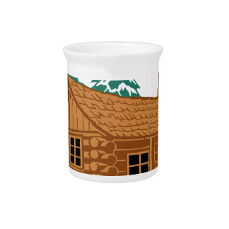 Cabin House Pitcher