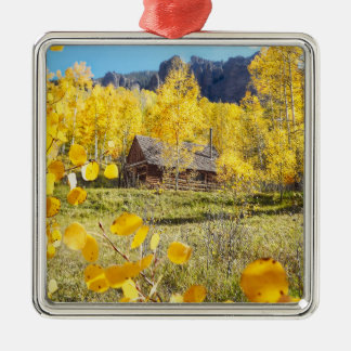 Cabin in Aspens Christmas Ornament