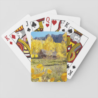 Cabin in Aspens Playing Cards