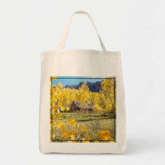 Cabin in Aspens Tote Bag