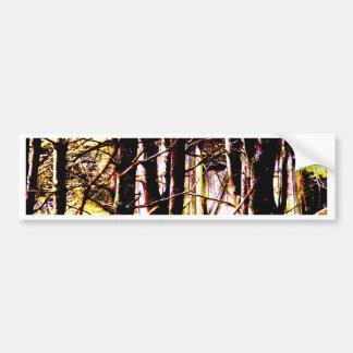 Cabin in the Woods Bumper Sticker