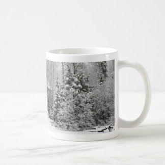 Cabin in Winter Mug