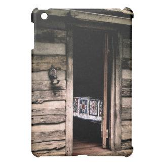 Cabin Quilt ipad Case