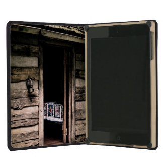 Cabin Quilt iPad Mini Covers