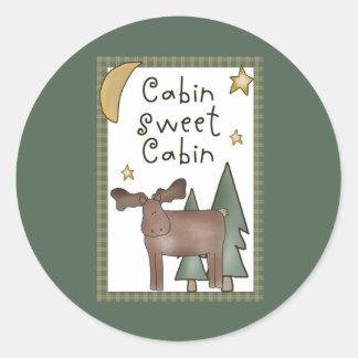 Cabin Sweet Cabin Stickers