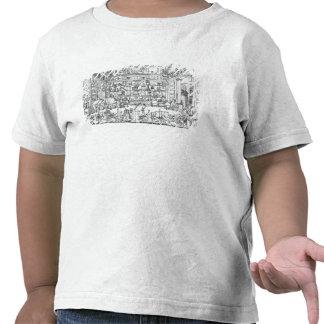 Cabinet of physics, 1687 t shirt