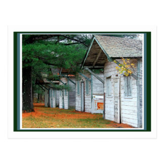 Cabins Postcard