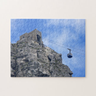 Cable Car Cape Town South Africa. Jigsaw Puzzle