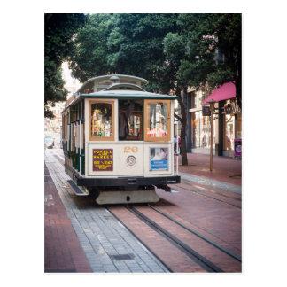 Cable Car of San Francisco Postcard