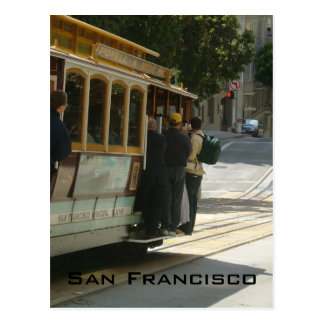 Cable Car Post Card