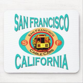 Cable Car San Francisco Mouse Pads