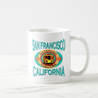 Cable Car San Francisco Coffee Mugs