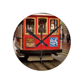 Cable Car San Francisco Wall Clock