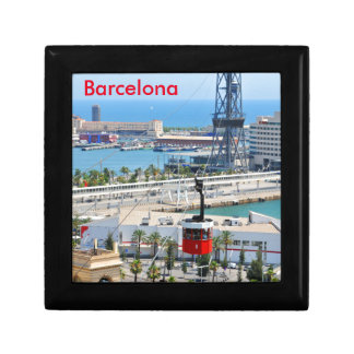 Cable cars (funiculars) in Barcelona Gift Box