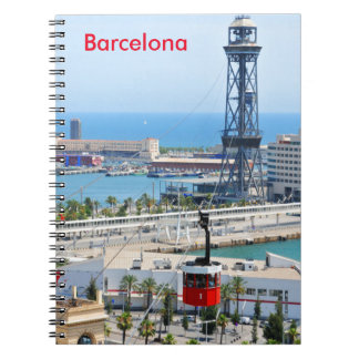 Cable cars (funiculars) in Barcelona Notebook