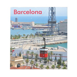 Cable cars (funiculars) in Barcelona Notepad