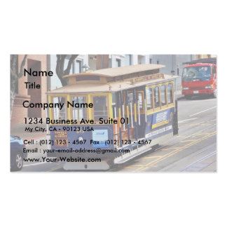 Cable Cars In San Francisco Business Card Templates