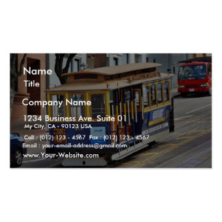 Cable Cars In San Francisco Business Cards