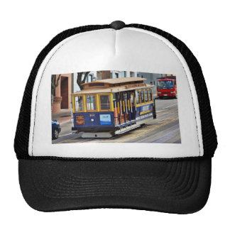 Cable Cars In San Francisco Hats