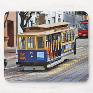 Cable Cars In San Francisco Mousepad