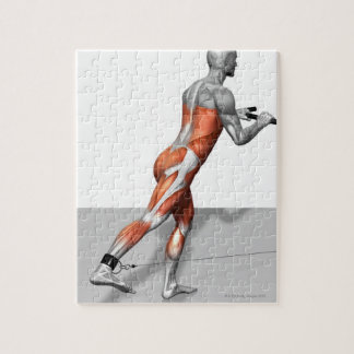 Cable Skater Exercise Jigsaw Puzzle