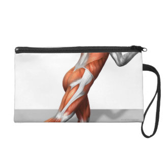 Cable Skater Exercise Wristlet Clutches