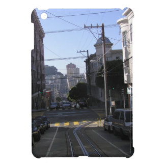 Cable tracks in the middle of road - San Francisco Case For The iPad Mini