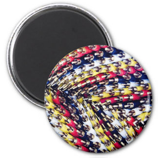 Cables and wires 6 cm round magnet