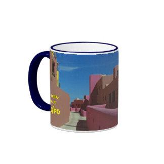Cabo Coffee Mug Path Through Colorful Walls