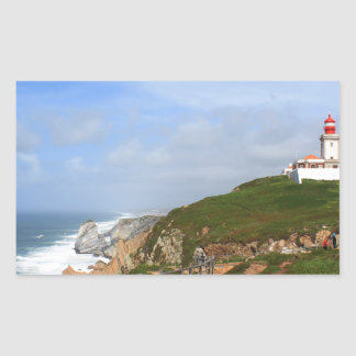 Cabo da Roca, Portugal Rectangular Sticker