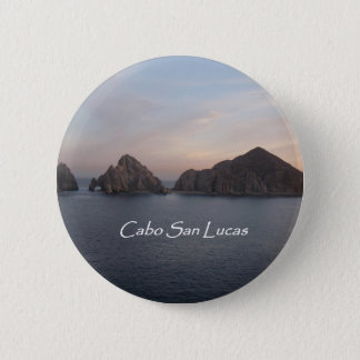 Cabo San Lucas at Sunset 6 Cm Round Badge