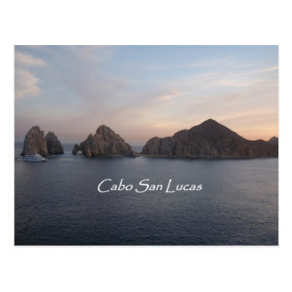 Cabo San Lucas at Sunset Postcard