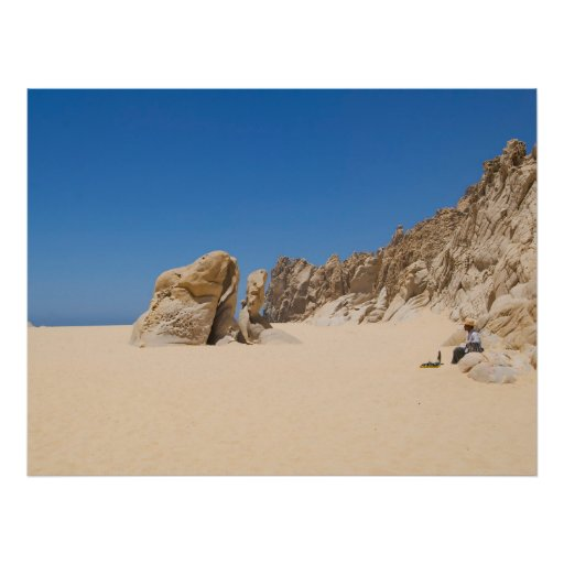 Cabo San Lucas beach 13 Print