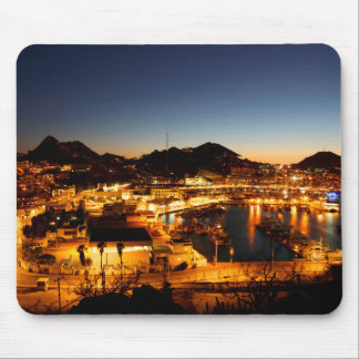 Cabo San Lucas Cityscape At Sunset, Mexico Mouse Mat