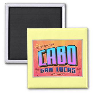 CABO SAN LUCAS SQUARE MAGNET