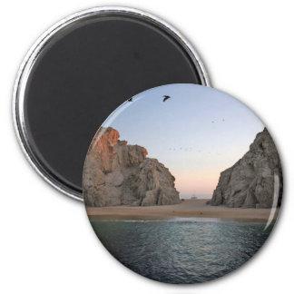 Cabo San Lucas Mexico Lover's Beach Magnet