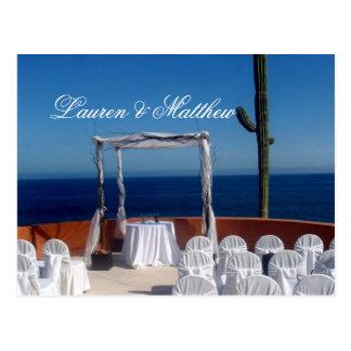 Cabo San Lucas wedding Postcard